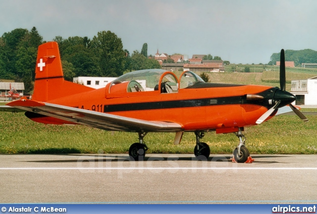 A-911, Pilatus PC-7, Swiss Air Force