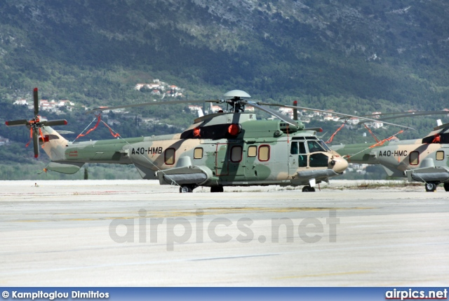 A4O-HMB, Eurocopter EC 225-LP Super Puma Mk II+, Oman Royal Flight