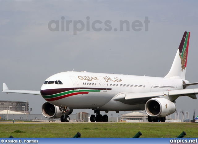 A4O-KB, Airbus A330-200, Gulf Air