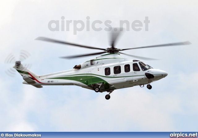 A6-141, AgustaWestland AW139, Dubai Air Wing - Royal Flight