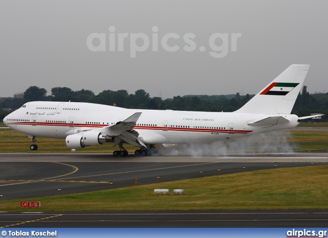 A6-COM, Boeing 747-400M, Dubai Air Wing - Royal Flight