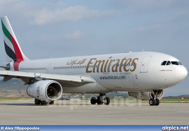 A6-EAO, Airbus A330-200, Emirates