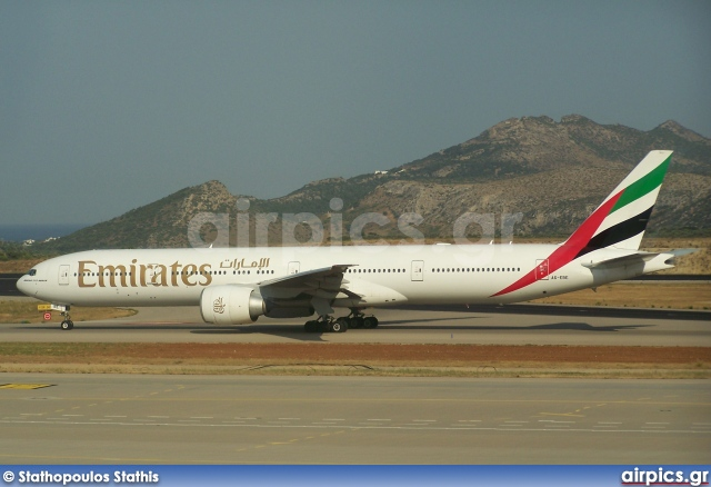 A6-EBE, Boeing 777-300ER, Emirates