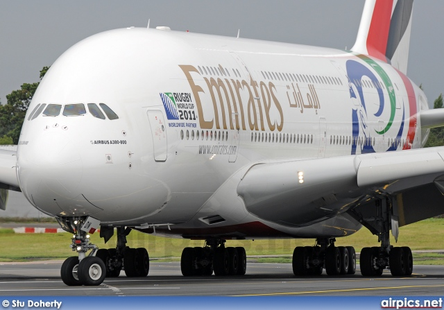 A6-EDN, Airbus A380-800, Emirates
