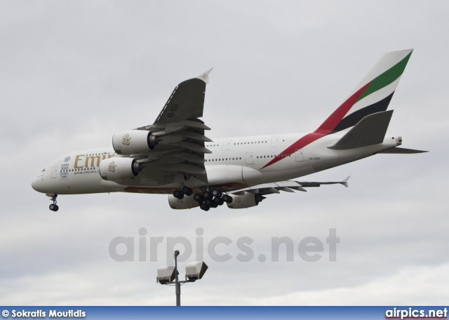A6-EDX, Airbus A380-800, Emirates