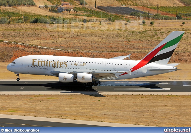 A6-EEG, Airbus A380-800, Emirates