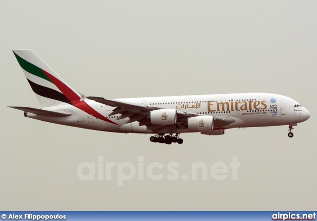 A6-EEX, Airbus A380-800, Emirates