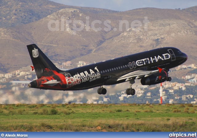 A6-EIB, Airbus A320-200, Etihad Airways