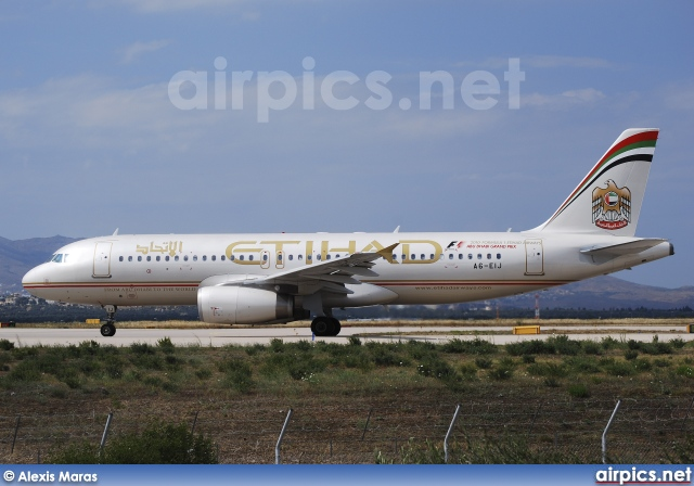 A6-EIJ, Airbus A320-200, Etihad Airways