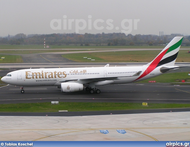 A6-EKU, Airbus A330-200, Emirates