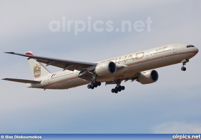 A6-ETD, Boeing 777-300ER, Etihad Airways