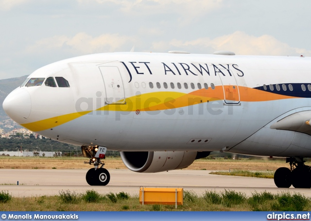 A6-EYC, Airbus A330-200, Jet Airways
