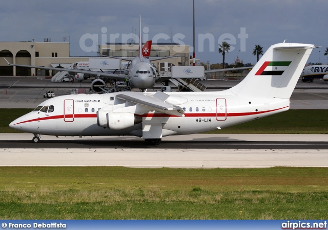 A6-LIW, British Aerospace Avro RJX, United Arab Emirates