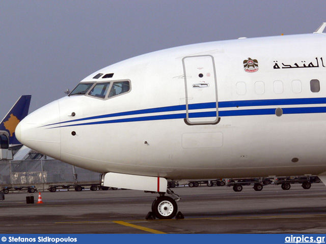 A6-MRM, Boeing 737-800/BBJ2, Dubai Air Wing - Royal Flight