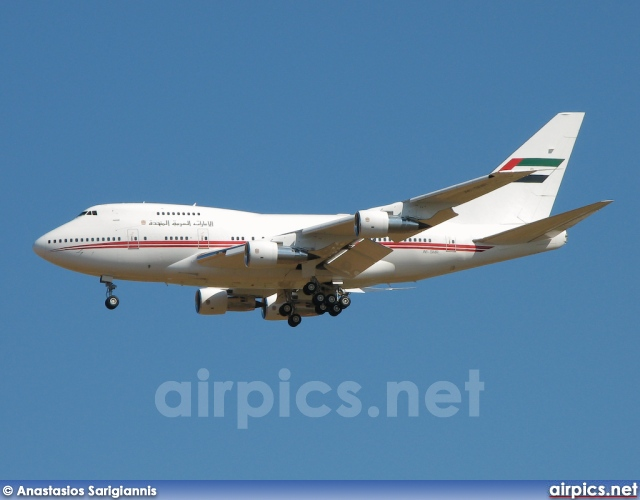 A6-SMR, Boeing 747-SP, United Arab Emirates