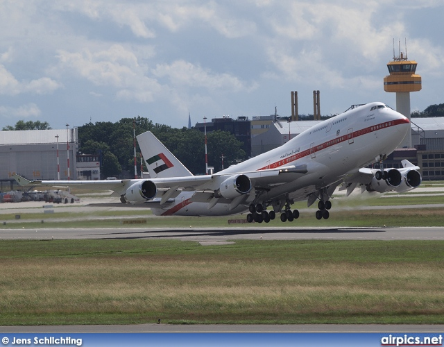 A6-UAE, Boeing 747-400M, United Arab Emirates