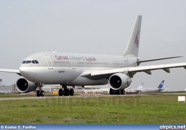 A7-ACC, Airbus A330-200, Qatar Airways