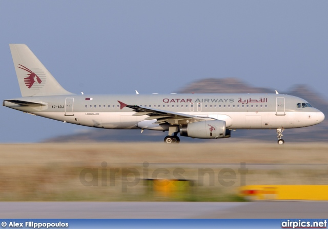 A7-ADJ, Airbus A320-200, Qatar Airways