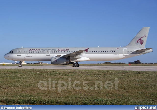 A7-ADS, Airbus A321-200, Qatar Airways