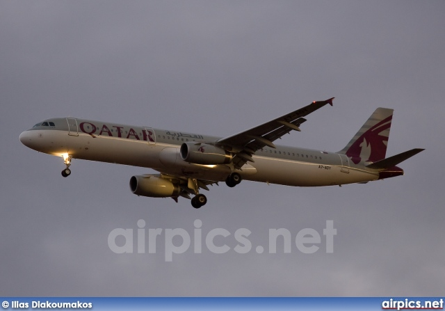 A7-ADY, Airbus A321-200, Qatar Airways