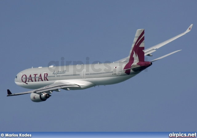 A7-AEG, Airbus A330-300, Qatar Airways