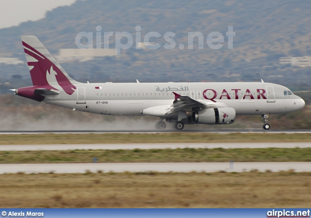 A7-AHA, Airbus A320-200, Qatar Airways
