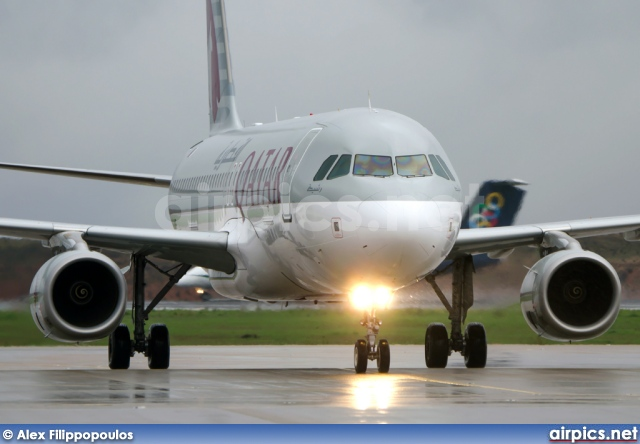 A7-AHF, Airbus A320-200, Qatar Airways