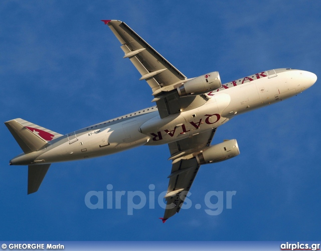 A7-AHH, Airbus A320-200, Qatar Airways