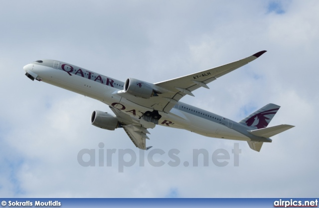 A7-ALH, Airbus A350-900, Qatar Airways