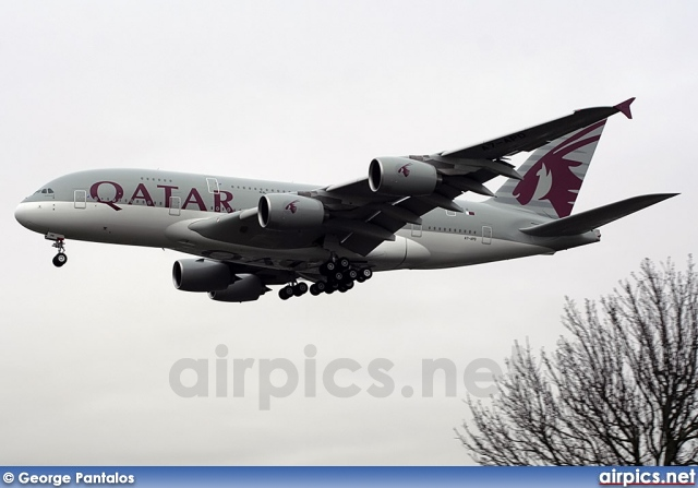 A7-APD, Airbus A380-800, Qatar Airways