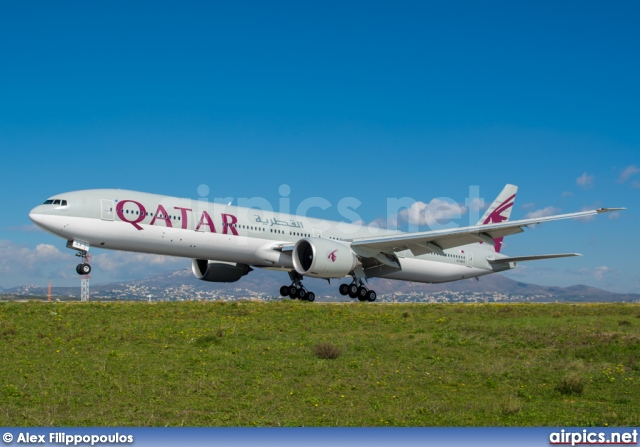 A7-BAX, Boeing 777-300ER, Qatar Airways