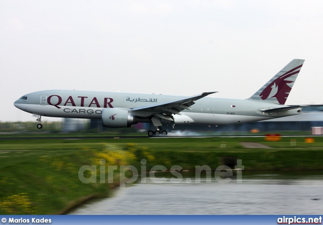 A7-BFC, Boeing 777F, Qatar Airways Cargo