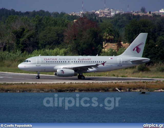 A7-HHJ, Airbus A319-100CJ, Qatar Airways