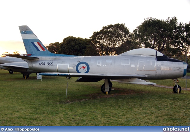 A94-989, CAC CA-27 Sabre, Royal Australian Air Force