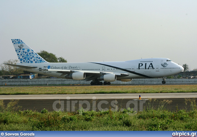 AP-BAK, Boeing 747-200BM, Pakistan International Airlines (PIA)
