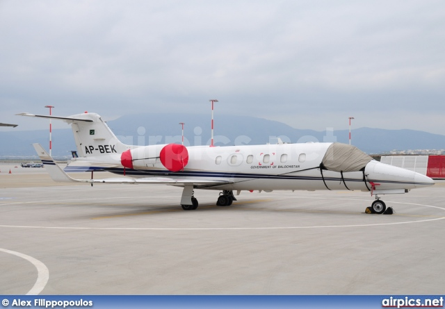 AP-BEK, Gates Learjet 31, Government of Balochistan