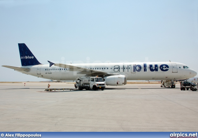 AP-BJB, Airbus A321-200, Air Blue