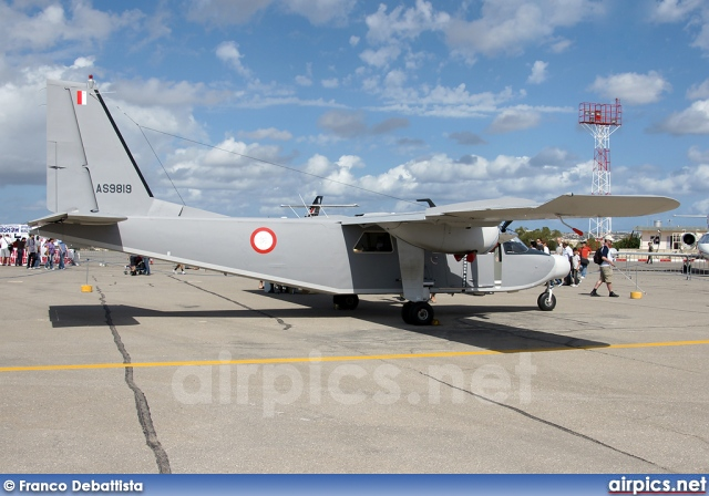 airpics net - AS9819, Britten-Norman BN-2B Islander II, Malta Air
