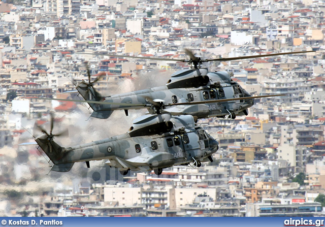 Aerospatiale (Eurocopter) AS 332-C1 Super Puma, Hellenic Air Force