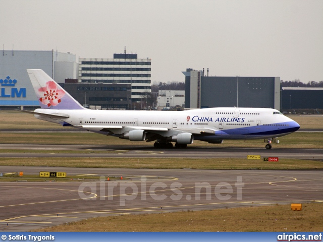 B-18201, Boeing 747-400, China Airlines