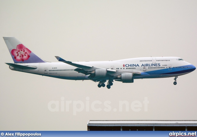 B-18210, Boeing 747-400, China Airlines