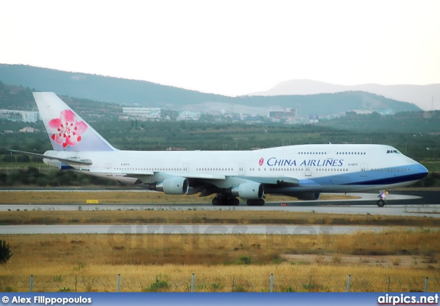 B-18272, Boeing 747-400, China Airlines