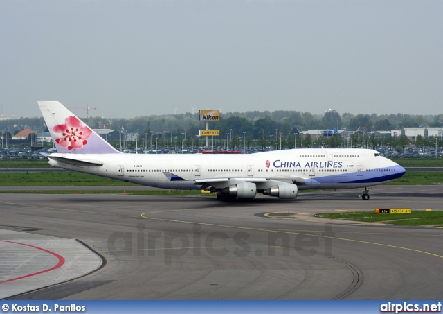 B-18275, Boeing 747-400, China Airlines