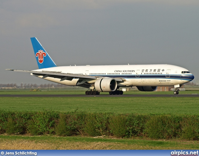 B-2070, Boeing 777-200ER, China Southern Airlines