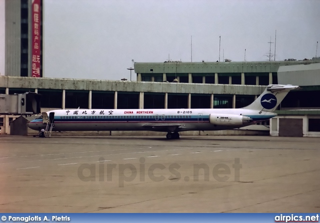 B-2105, McDonnell Douglas MD-82, China Northern Airlines