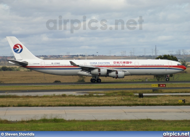 B-2380, Airbus A340-300, China Eastern