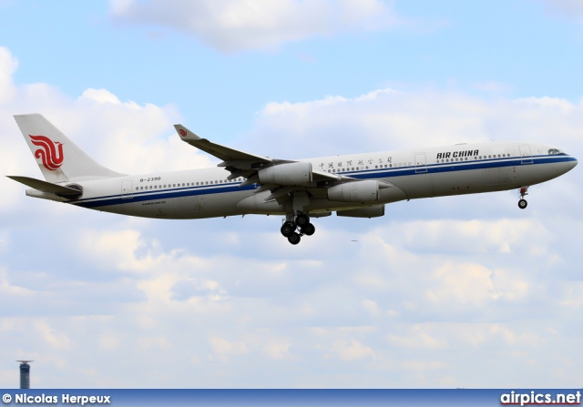 B-2390, Airbus A340-300, Air China