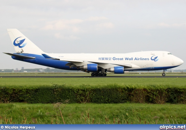 B-2428, Boeing 747-400F(SCD), Great Wall Airlines