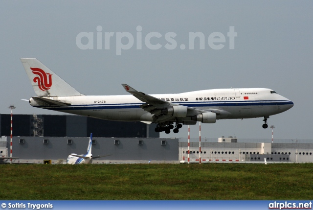 B-2478, Boeing 747-400SF, Air China