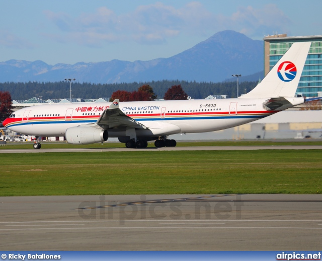 B-5920, Airbus A330-200, China Eastern